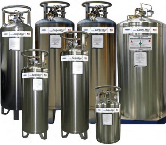 Beverage CO2 Bulk Tank Storage Solutions